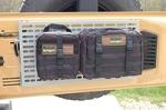 JK Rear Door Folding Tray/MOLLE Panel Combo