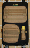 MP-X Seat Back MOLLE Panel COMBO