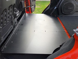 Jeep JL Unlimited (4 Door) Rear Seat Delete