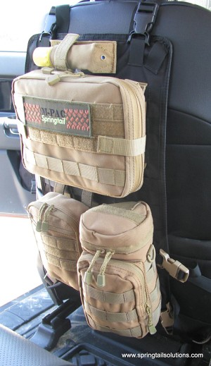 MP-X Seat Back MOLLE Panel